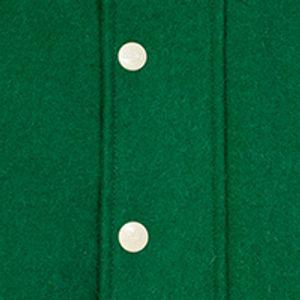 Men College Jacket COLLEGE Bottle Green/Ecru XXL Benlee