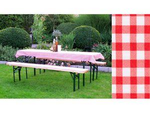 Gartenmöbelauflage, Bierbank-Set. 3tlg. gepolstert