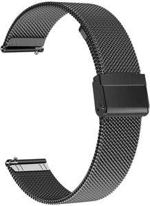 Luxus Edelstahl Schnellwechsel Ersatz Uhrenarmband Strap für Samsung Galaxy Fit