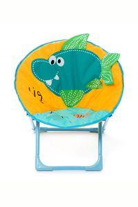 Kinderstuhl Fisch Motiv Indoor Outdoor Kinderstühle Weich Gelb Blau