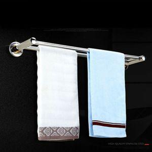 Edelstahl Handtuchstange Handtuchhalter Bad Handtuchständer Badezimmer Handtuch 2 Stange 40cm