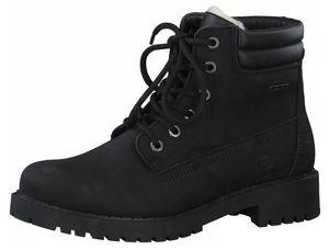 Tamaris Damen Elegante Stiefelette 1-26244-27 Schwarz 007 Black Uni Leder mit Removable Sock, Groesse:39 EU