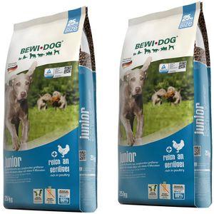 2 x 25 kg Bewi Dog Junior