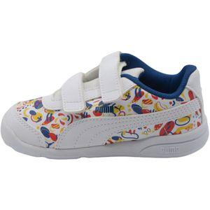 Puma Stepfleex 2 SL VE Inf Kinder Baby Schuhe Sneaker, Größe:EUR 24 / UK 7 / 15 cm, Farbe:Weiß (Puma White)
