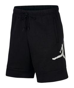 Nike M J Jumpman Air Flc Short Black/Black/White L