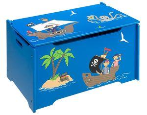 4Uniq Kinderspielzeugtruhe Pirat 18810