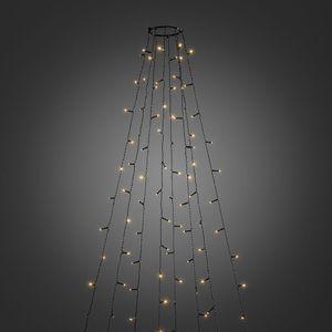 Konstsmide Weihnachtsbaum Beleuchtung Baummantel bernsteinfarben Lichterkette