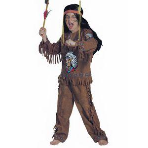 Karneval Indianer Kostüm Kinder # Gr. 122/128