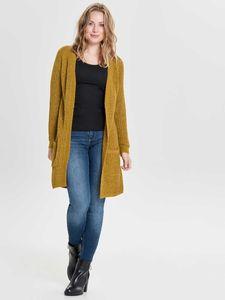 ONLY Damen Cardigan onlBERNICE, Farbe:gelb, Größe:L