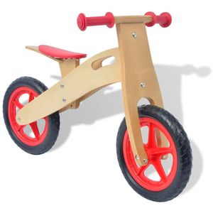 Laufrad Holz Rot