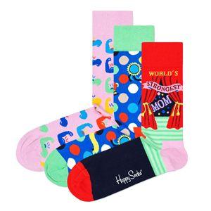 Happy Socks Geschenkbox MOTHER´S DAY SOCKS GIFT SET 3-PACK XMOT08-3300 Mehrfarbig, Size:41-46