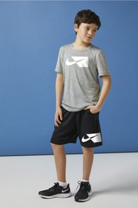 Nike Core Big Kids' (Boys') Sh,Sm Smoke Grey Smoke Grey Xl