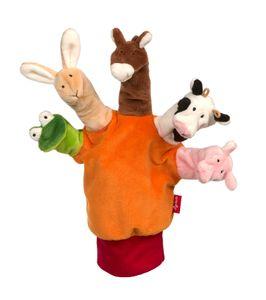 sigikid My Little Theatre Handschuh Tiere, Puppentheater, Fingerpuppen, Spielzeug, 42786