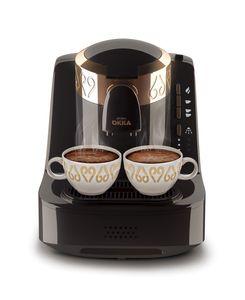 Arzum Okka Türkische Mokka Kaffeemaschine OK 001-B Schwarz Kupfer