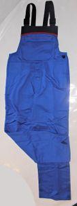 HB Störlichtbogenschutz Latzhose royal/navy/rot Arbeitshose Arbeitskleidung Hose, Größe:44