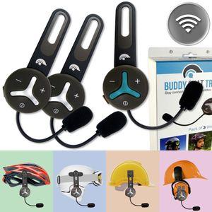 BuddyChat TRIO Bluetooth HelmHeadset Intercom Gegensprechanlage Freisprechanlage