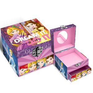 Disney Prinzessinen Schmuckbox mit Schublade