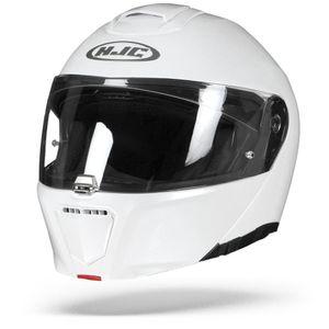 HJC RPHA 90 - SEMI MATT / PERLWEISS - Klapphelm / Motorradhelm, Größe:S