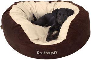 Knuffelwuff Hundebett Dooly aus Velours XXL 110 x 95cm