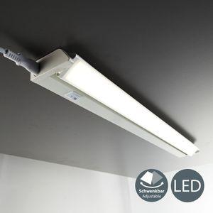 LED Unterbauleuchte schwenkbare Lichtleiste Küchenleuchte 8,5 Watt 1000 Lumen Leuchtmittel neutralweiß 4000 Kelvin B.K.Licht
