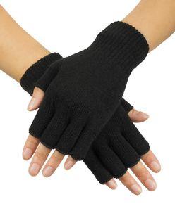 Boland fingerlose schwarze Handschuhe in Einheitsgröße