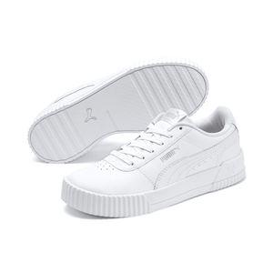PUMA Carina Damen Sneaker Weiß Schuhe, Größe:39