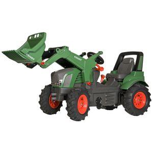 Rolly Toys Fendt 939 Vario mit Luftbereifung/Schaltung/Frontlader Traktor Trettraktor grün