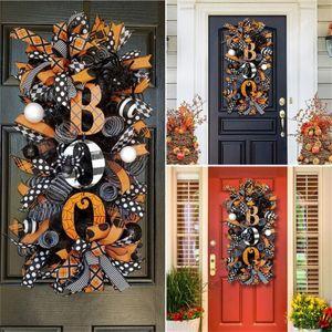 Halloween Kranz Herbst Dekoration Tür Garten Kranz