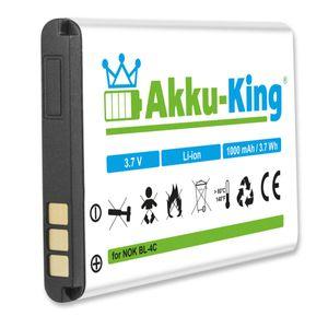 Akku kompatibel mit Swisstone, Swisvoice - Li-Ion 1000mAh - für BBM 620