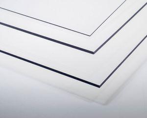 Krick Kunststoffplatte PVC transparent 0,15x194x320 mm
