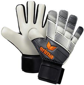 erima Skinator Hybrid Training Torwarthandschuhe black/white/neon orange 11
