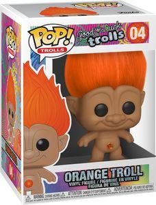 Good Luck Trolls - Orange Troll 04 - Funko Pop! - Vinyl Figur