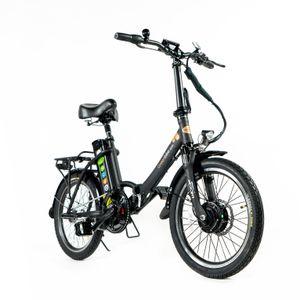City20 Premium - E-Bike  20 Zoll Pedelec Klapprad mit rücktritt, Faltrad, 21Ah / 250W Vorderradmotor, Akku-Reichweite bis zu 150km