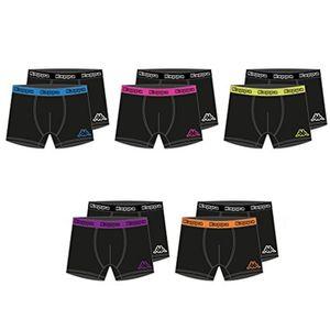10er Pack Kappa Boxershorts Unterwäsche Unterhose Herren Boxer Short Gr. M-XXL, Größe:XL