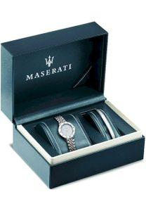 Maserati R8853145507 Geschenkset Damenuhr & Armreif Successo