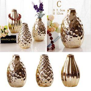 3 x Keramik Blumenvase Keramische Vasen Dekovase