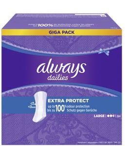 always Slipeinlage Extra Protect Large Gigapack 64