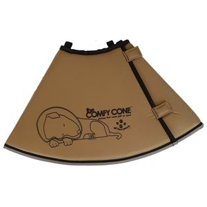 All Four Paws Hundekragen Comfy Cone M 20 cm Hellbraun