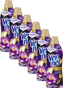 Vernel Weichspüler 6er Pack Therapie Traumhafte Lotusblüte 6x34 Waschladungen