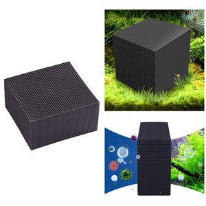 Wasserfilter Cube Aquarium Filter Eco-Aquarium Filter Ultra Strong Filtration & Absorption 10X10X5CM