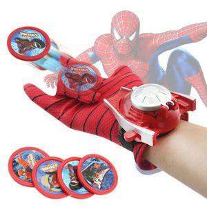 Spielzeugpistolen Spielzeug Launcher Handschuhe Kinder Superheld Cosplay Spider-Man