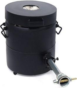 6kg Elektrischer Schmelzofen Goldschmelzofen Gold Digitale Schmelzmaschine Silber Kupfer Schmelzen 1300℃ Ofen Graphittiegel Schmelzofen für Metall