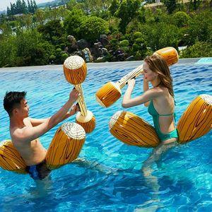 4 PCS Pool Joust Float Schwimmspiel Spielzeug Aufblasbare Gladiator Party Duell Battle