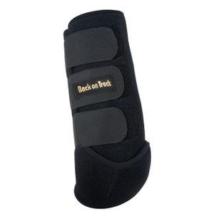 Back on Track Arbeitsgamaschen aus Neopren für die Hinterbeine - schwarz, Größe:S
