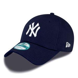 New Era Cap 9FORTY League Basic NY Yankees Navy/White, Cap:OSFA