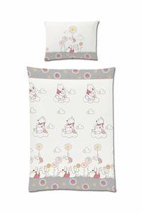 Disney Winnie Pooh Baby Kinder Bettwäsche 100x135 Baumwolle Renforce neu