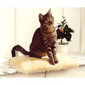 Silvio Design Katzenliege, Katzen-Kuschelbett, Fensterliege für Katzen, in be...
