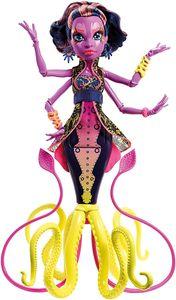 Mattel Monster High DHB49 - Modepuppen, Das Große Schreckensriff, Kala Merri