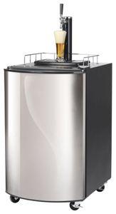 Bierkühler, 515x665x815 mm, 128 Liter, Edelstahltür