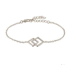 Boccia Damen Armband aus Titan in silberfarben - 03021-01